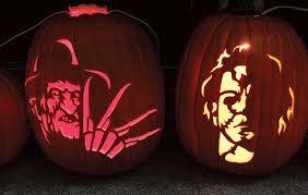 Printable Freddy Krueger Pumpkin Stencils by Michael Myers Pumpkin Carving Patterns Patterns Kid