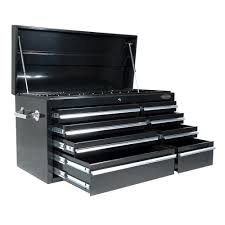 Buy Maxim 28 Drawer Combo Black Tool Box Locker Side Cabinet 76 Inch ...