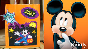 Halloween Trivia Questions And Answers For Adults by Mickey And Friends Halloween Treat Bags Disney Diy Disney Video