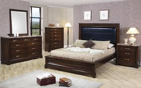 Sears Bedroom Furniture by Dark Oak Finish Contemporary 5pc Bedroom Set W Marble Tops