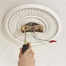 ceiling light mounting plate and fixture cover home lighting with
