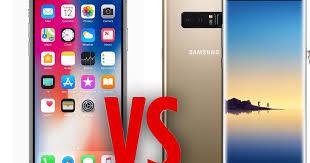 Samsung Galaxy Note 8 vs Apple iPhone X Tech titans battle it out