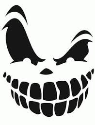 Scary Vampire Pumpkin Stencils by Pumpkin Cutout Templates Bat Free Printable Coloring Pages