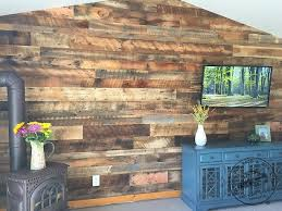 Plank Wood Wall Reclaimed