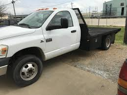 USED 2009 DODGE RAM 3500 FLATBED TRUCK FOR SALE IN AL #3074