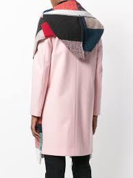 stella mccartney printed hooded scarf kirna zabête