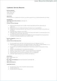 Examples Of Abilities For Resume Skills And On A Customer Service