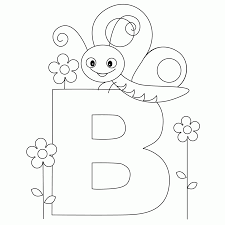 Abc Coloring Pages Free Printable