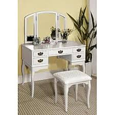 white bedroom vanity sets sears