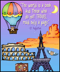 Travel World Clip Art Quotes Cute The Is