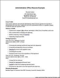 Cover Letter Office Administrator Resume Church
