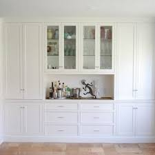 Dining Room Wall Cabinets Built Ins With Counterbarbuffet Space Closed Storage That