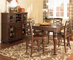 Tall Dining Room Table Target by Ashley Furniture Porter Bar Height X Back Tall Upholstered Swivel