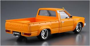 100 Datsun Truck Aoshima 58404 720 Custom 82 Nissan 124 Scale Kit
