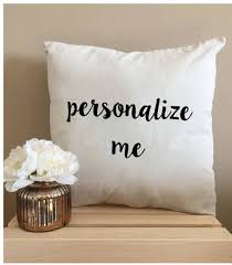 Custom Throw Pillows Personalized Throw Pillows 18 x 18 Pillow