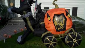my airblown inflatable and halloween decorations display 2011