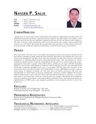 Remarkable Sample Resume For Service Crew In The Philippines On Cabin Objective Film Template