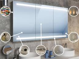 spiegelschrank mit beleuchtung riesenauswahl an led