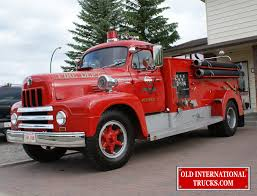 100 Old Fire Trucks 1956 R1856 FIRE TRUCK International Truck Parts
