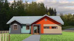 100 Modern One Story House Small 3 Bedroom Singlestory House Plan For The Construction