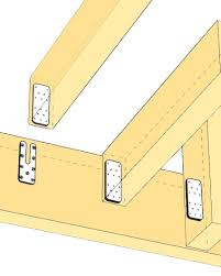 Vaulted Ceiling Joist Hangers by Concealed Beam Hanger Simpson Strong Tie Archreference