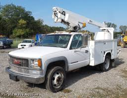 100 Altec Boom Truck 1999 GMC Sierra 3500 Bucket Truck Item DD2117 SOLD Octo