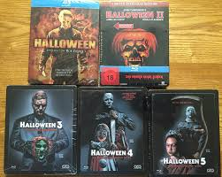 Donald Pleasence Halloween 5 by Halloween Limited Blu Ray Steelbook Collection 1 5 2016 Region