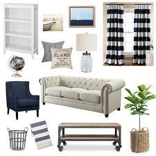 Nautical Living Room Sofas by Updating Our Nautical Living Room Dress Cori Lynn
