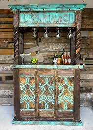 Wooden Patio Bar Ideas by San Cristobal Cantina Bar Rustic Furniture Bar And Outdoor