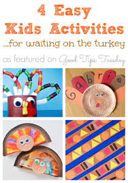 4 Easy Kids Activities For Waiting On The Turkey
