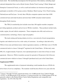 100 Commercial Truck Lease Agreement BEFORE THE FEDERAL MOTOR CARRIER SAFETY ADMINISTRATION UNITED STATES