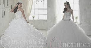 white quince dress so not boring quinceanera