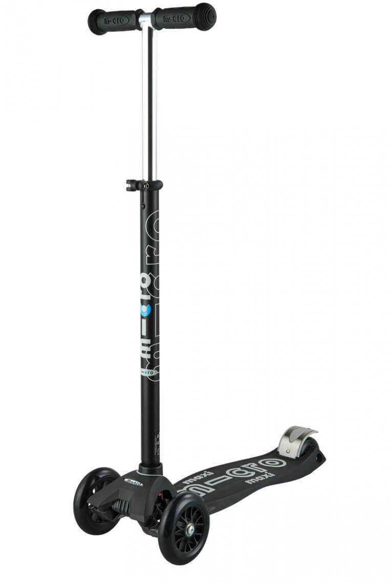 Maxi Micro Deluxe Scooter Black / Grey