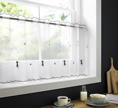 Kitchen Curtain Ideas With Blinds by 100 Black And White Kitchen Curtains Blinds U0026 Curtains