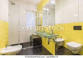 badezimmer mit schwarzem boden modernes badezimmer mit
