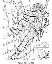 Armed Forces Day Coloring Page