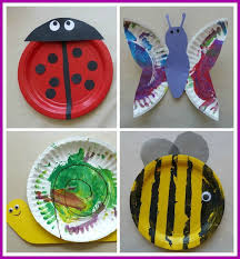 Comfortable Paper Plate Crafts Bugs Wwwimgkidcom The Image Kid