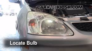 headlight change 2001 2005 honda civic 2003 honda civic si 2 0l