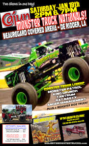 Cajun Nationals De Ridder, LA Saturday January 19th 2pm & 7pm Worlds Faest Monster Truck Gets 264 Feet Per Gallon Wired Nicole Johnson Monster Truck Driver Wikipedia Interview With Becky Mcdonough Jam Crew Chief And Driver Trucks Come To County Fair For The First Time This Year Down Under Family Ticket Giveaway Geekmom Guide Portland Bigfoot Grave Digger 24volt Battery Powered Rideon Walmartcom Behind The Scenes A Million Little Echoes Meet Trucks Petoskeynewscom Citrus Bowl Racing Tribudigitalorlandosentinel