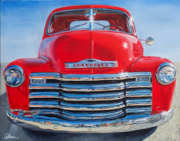 100 1951 Chevy Truck Chevrolet Art By Shan