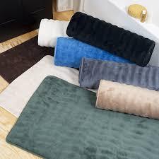 Bathroom Rug Runner 24x60 by Amazon Com Lavish Home Memory Foam Extra Long Bath Rug Mat