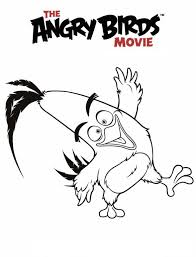6 Angry Birds Movie Coloring Pages