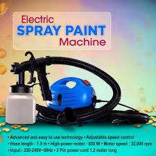 Buy Electric Spray Paint Machine Online At Best Price In India On