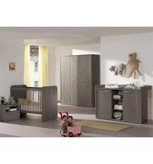chambre bebe lit evolutif bébé complète avec un lit évolutif coloris bouleau gris