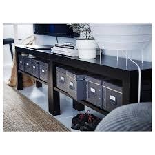 lack tv bank schwarz 90x26x45 cm