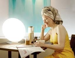 Uv Desk Lamp Vitamin D by True Sun Llc
