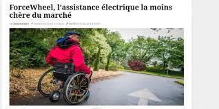 fauteuil roulant manuel avec assistance electrique forcewheel une innovante assistance électrique pour fauteuil