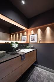 holz stein haus modern badezimmer sonstige