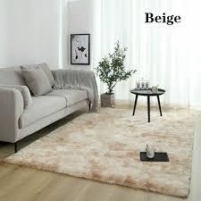 übergrosse flauschige teppiche shaggy area rug esszimmer