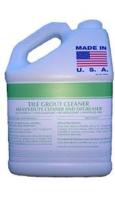 one gallon tile grout heavy duty cleaner degreaser